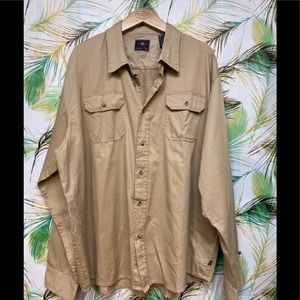 Wrangler Authentic Button down Shirt Rugged wear